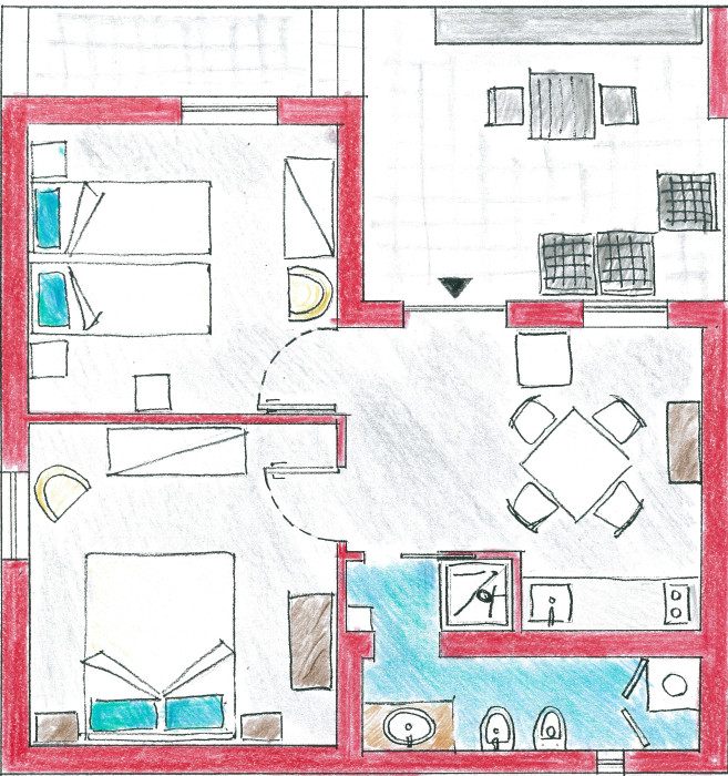Piantina - casa lagogorgo